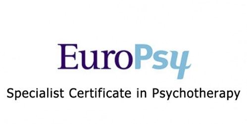 Centro acreditado por EuroPsy