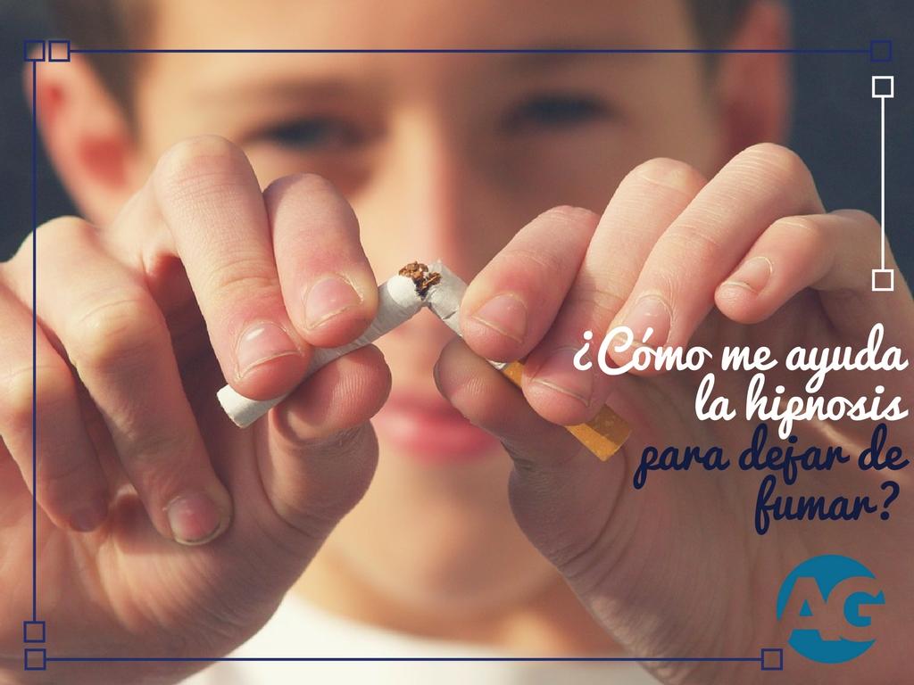 ¿Cómo me ayuda la hipnosis para dejar de fumar?