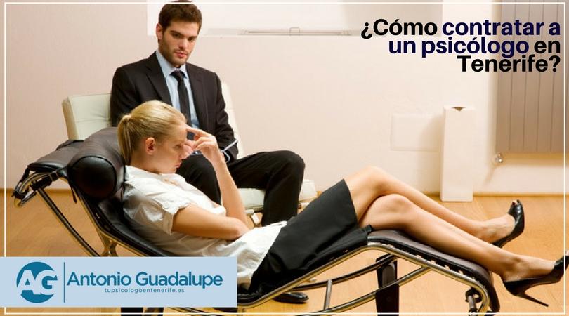 ¿Cómo contratar a un psicólogo en Santa Cruz de Tenerife?
