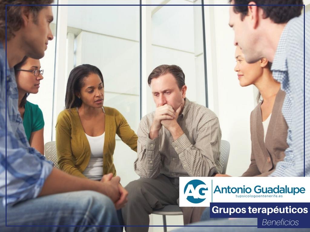 ¿Por qué y para qué son buenos los grupos terapéuticos?