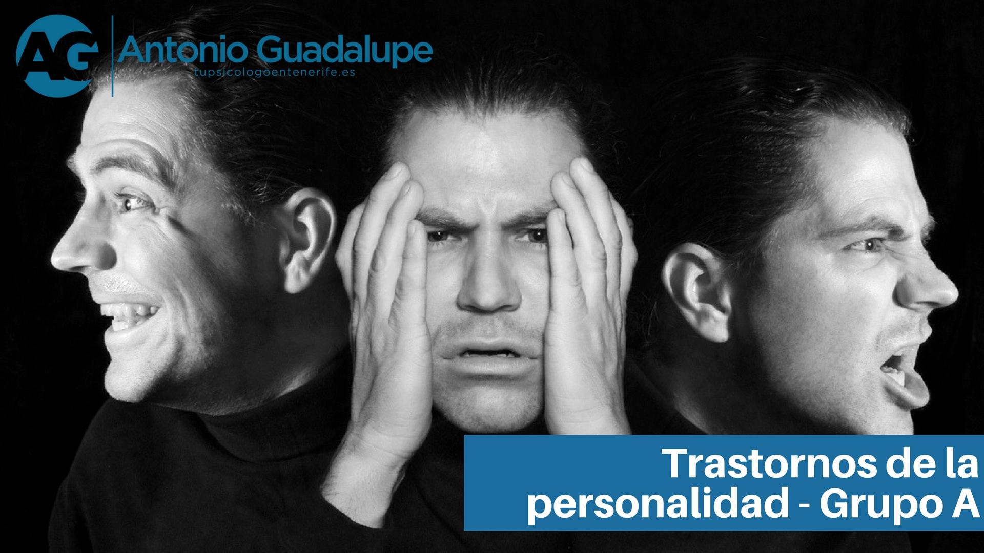 3 tipos de trastornos de personalidad