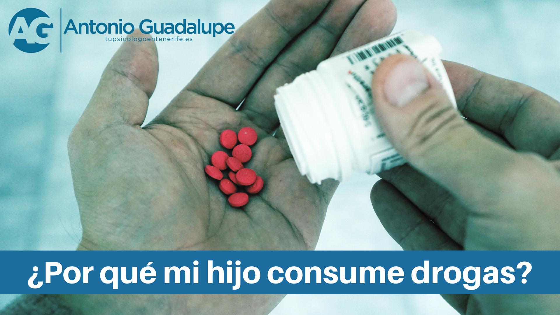 Tu Psicólogo en Tenerife responde ¿Por qué mi hijo consume drogas?