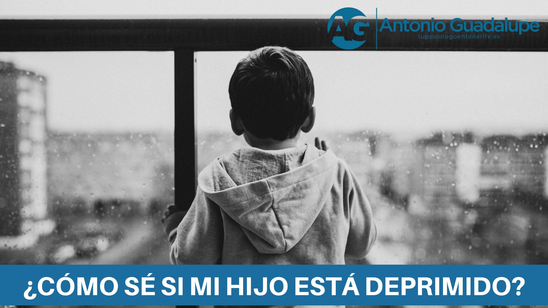 ¿Cómo saber si mi hijo está deprimido?