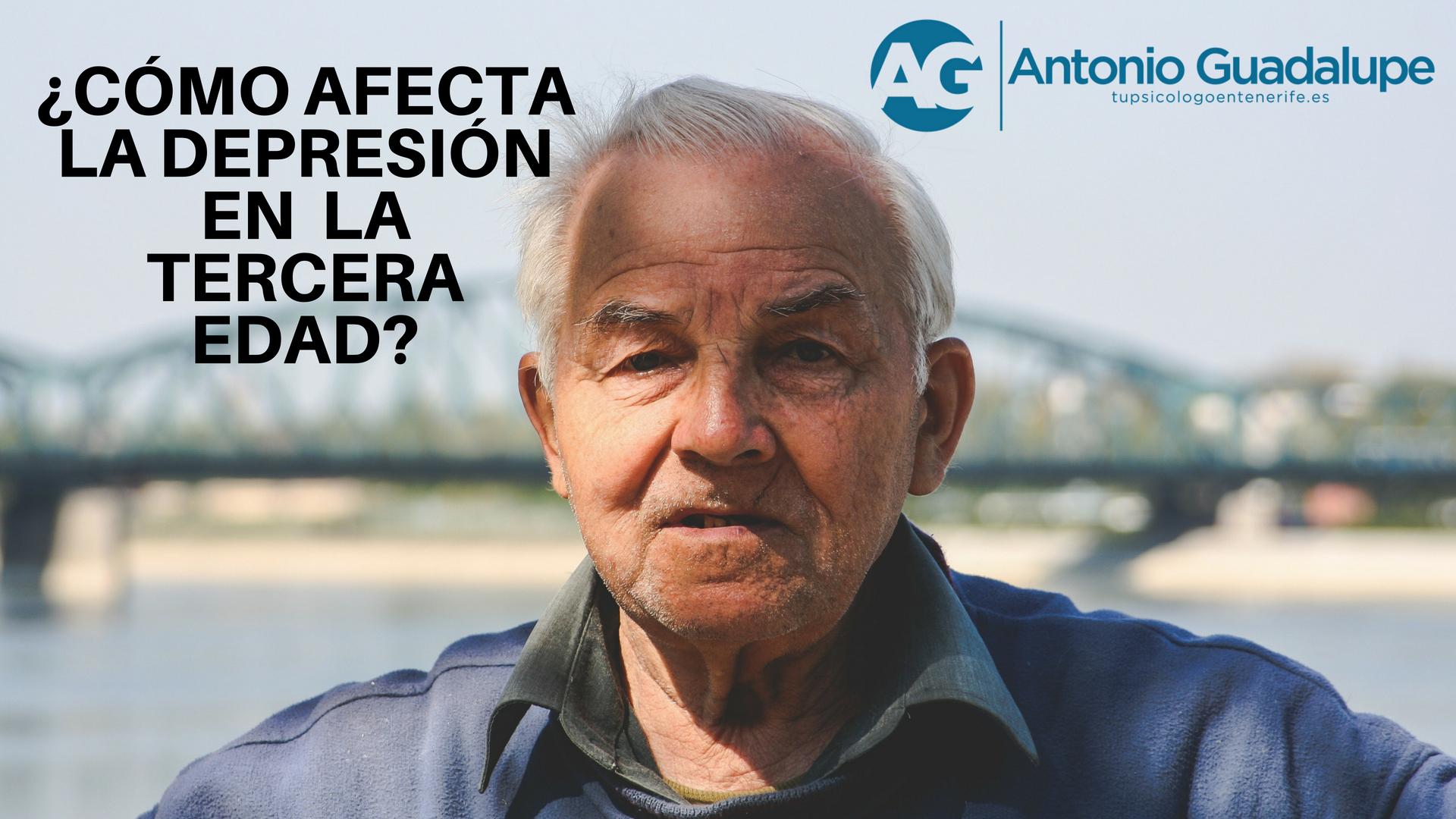 Depresión tercera edad? Descubre como te podemos ayudar