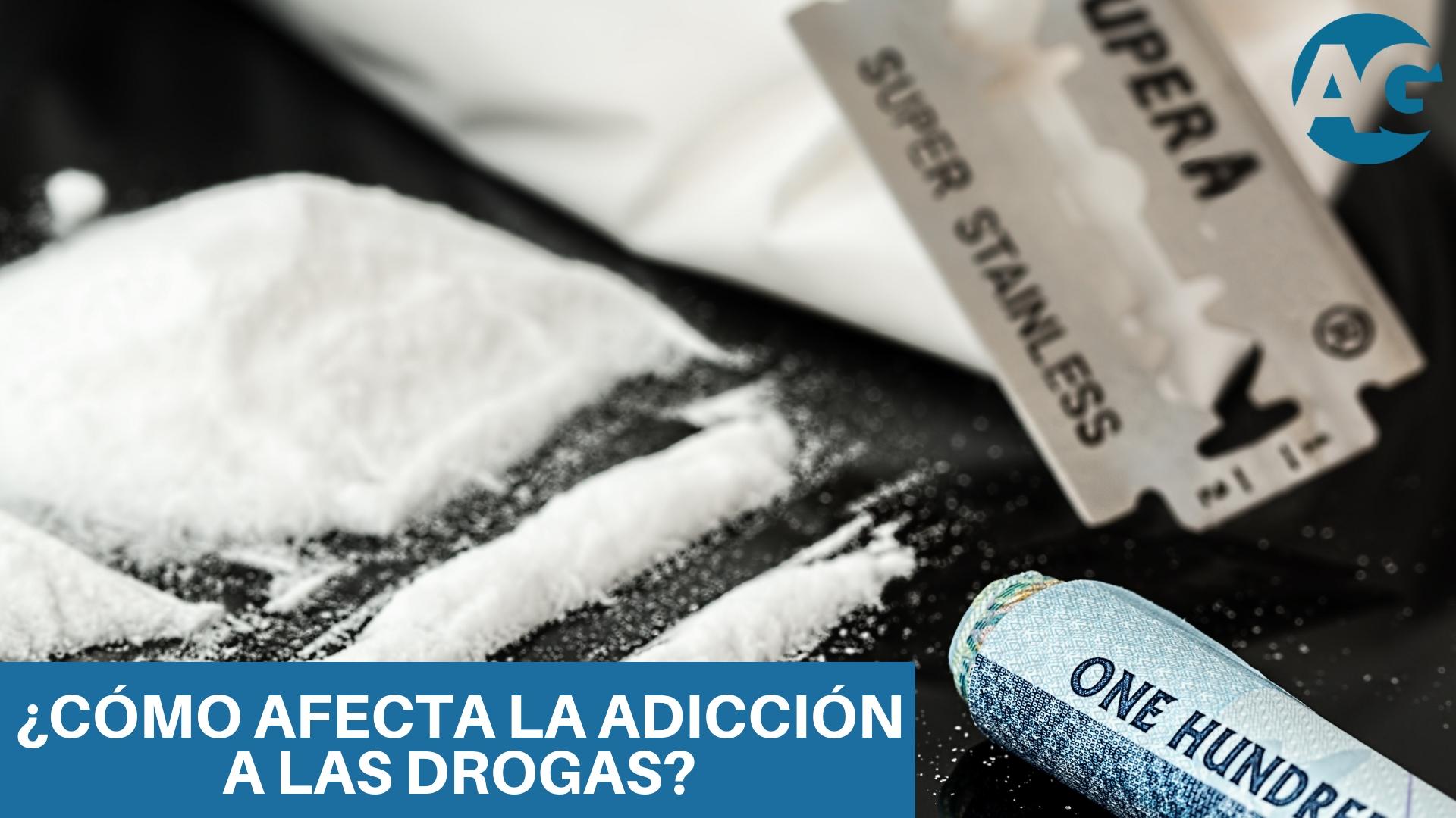 ¿Las drogas afectan psicológicamente?