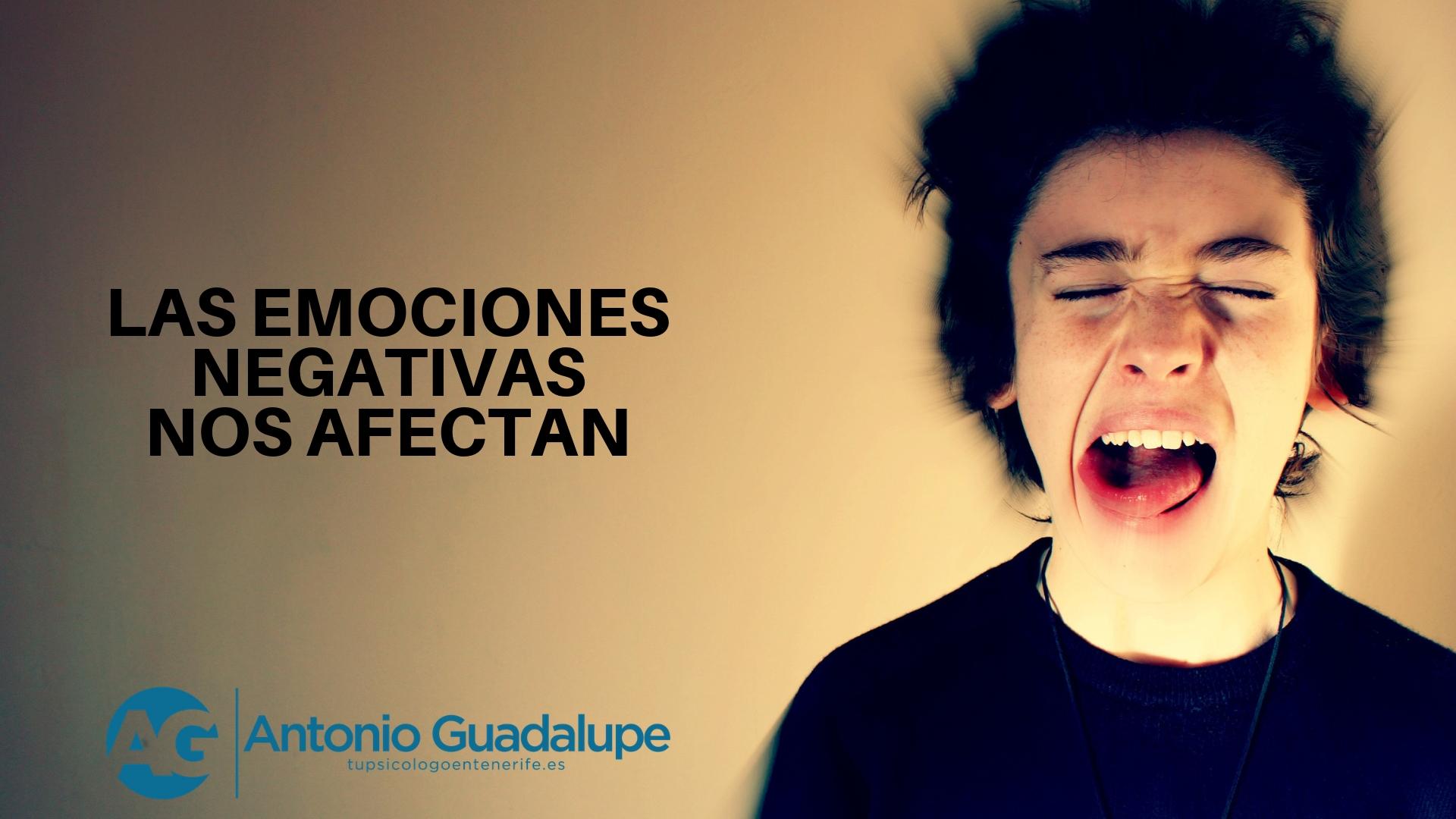 Nuestras emociones nos afectan psicológicamente