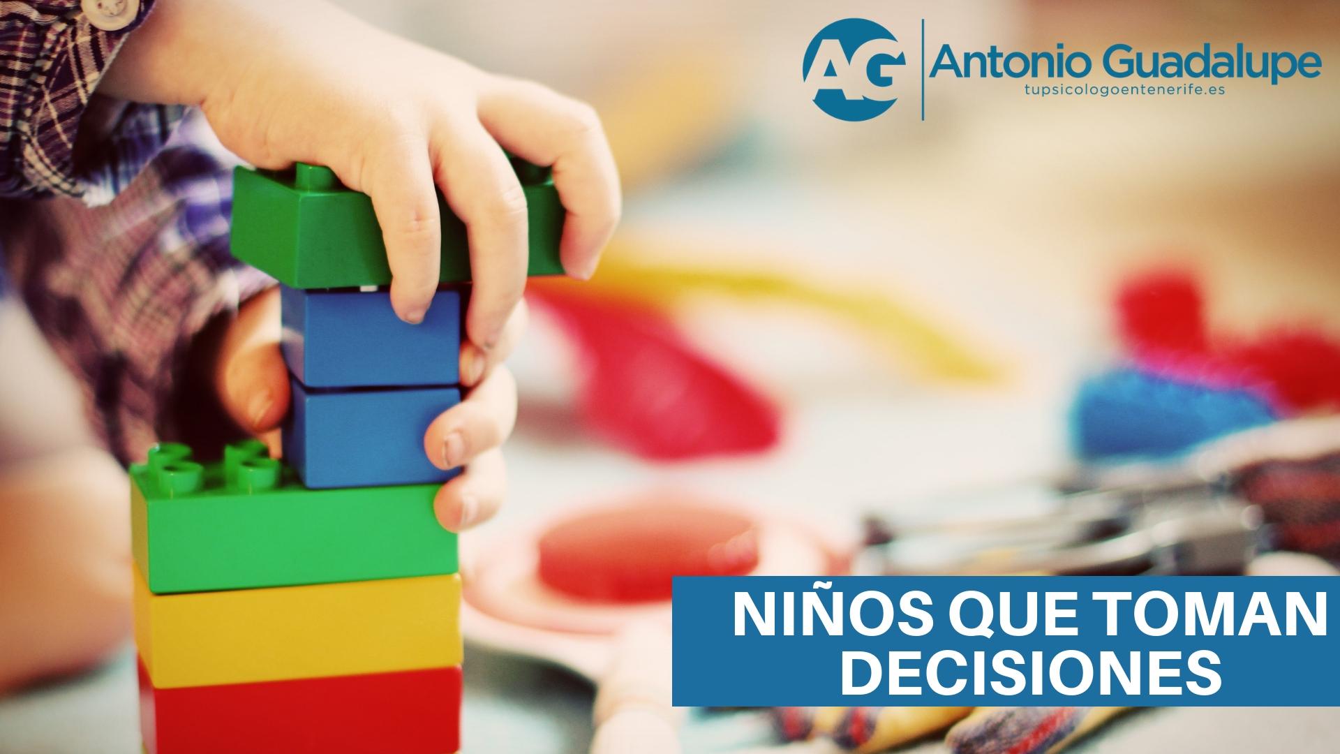 Niños que toman decisiones