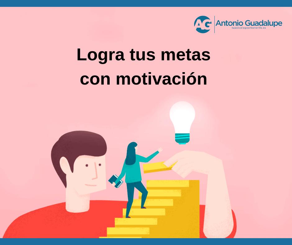 Logra tus metas a través de la motivación